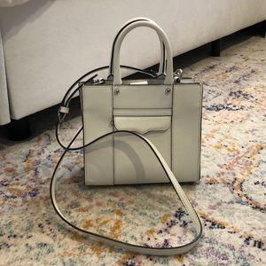 Rebecca Minkodf white purse / crossbody
